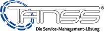 Logo TANSS Huck IT weiß