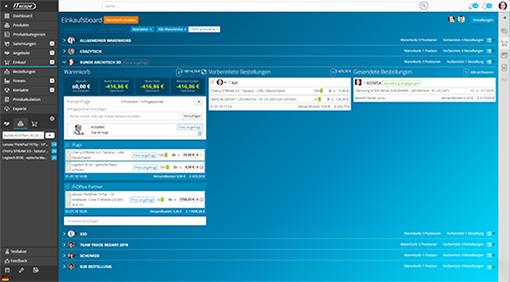 E-Procurement und Data Management Solution für nahtlose Workflows